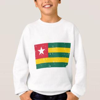 Mundo de la bandera de Togo Sudadera
