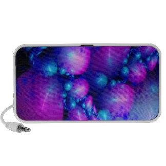 Mundo de la burbuja laptop altavoces