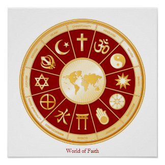 Mundo de la fe poster