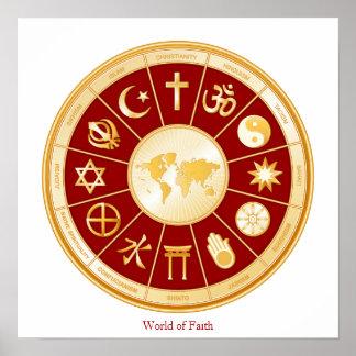 Mundo de la fe póster