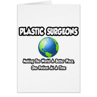 Mundo de los cirujanos plásticos… un mejor lugar felicitaciones