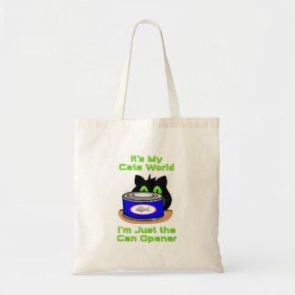 Mundo de los gatos bolsas