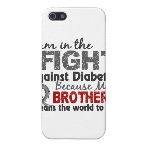 Mundo de los medios de Brother a mí diabetes iPhone 5 Funda