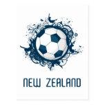 Mundo de Nueva Zelanda Tarjeta Postal
