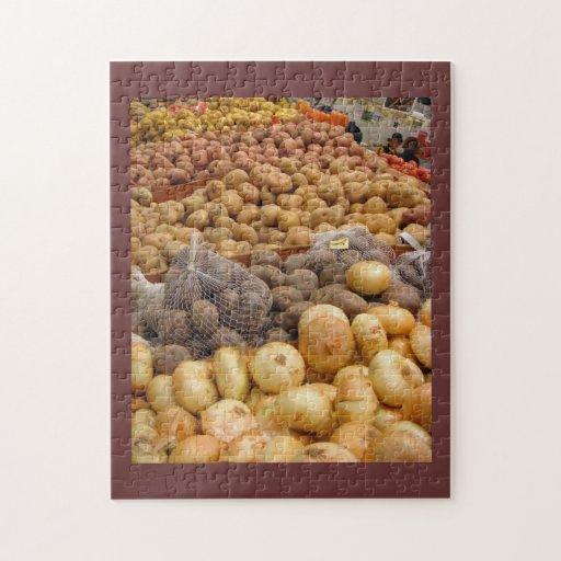 Mundo de patatas puzzles con fotos