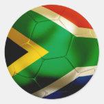 Mundo de Suráfrica Pegatina Redonda