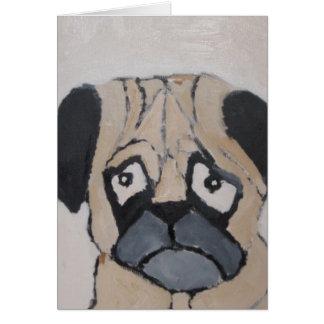 mundo del amor del perro de eric tarjeta de felicitación