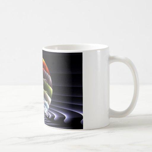 Mundo del color taza de café