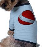 Mundo del equipo de submarinismo ropa perro