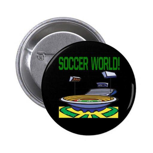 Mundo del fútbol pin