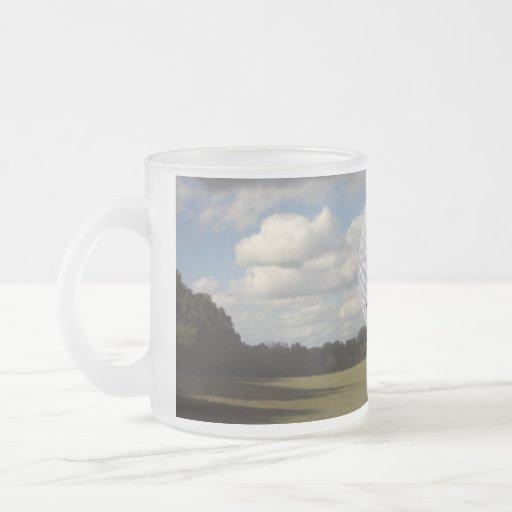 Mundo del golf tazas de café