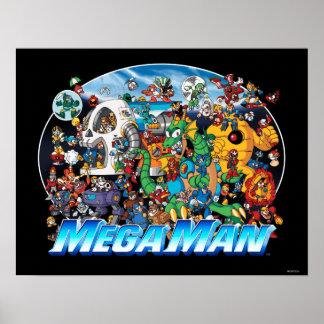 Mundo del hombre mega póster