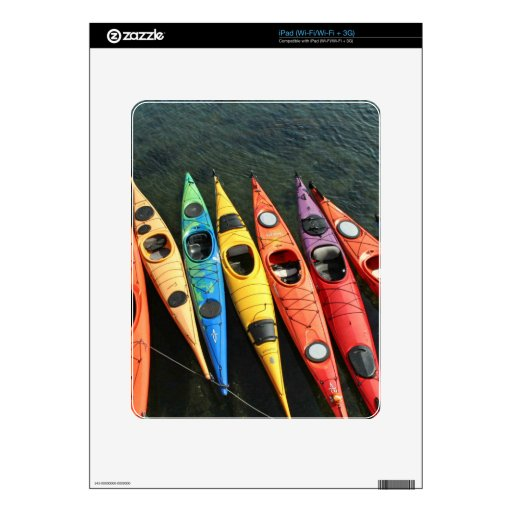 Mundo del kajak iPad skins