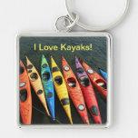 Mundo del kajak llaveros personalizados