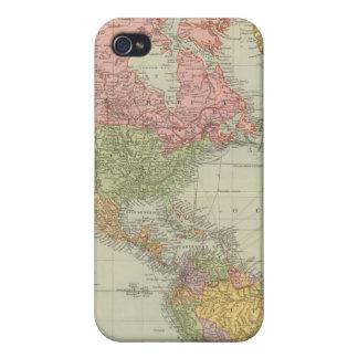 Mundo del oeste iPhone 4 funda