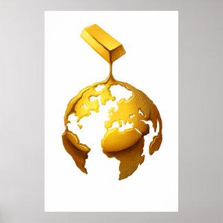 Mundo del oro póster