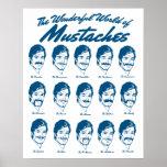 Mundo del poster de los bigotes