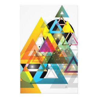 Mundo del sistema de Sun del triángulo de Wellcoda Papelería De Diseño