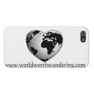 mundo digno del caso el vagar del iphone iPhone 5 carcasas