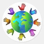 Mundo diverso etiqueta