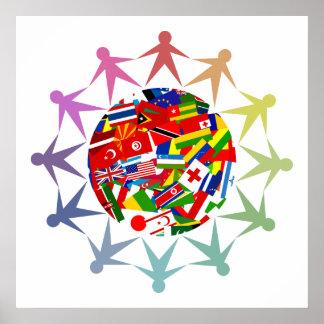 Mundo diverso póster