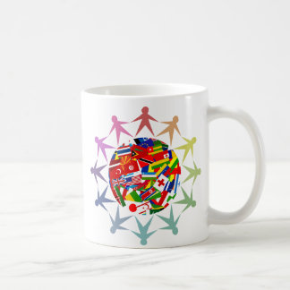 Mundo diverso taza de café