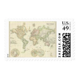 Mundo en la proyección de Mercator