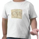 Mundo en la proyección de Mercator Camiseta
