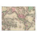 Mundo en la proyección de Mercator Felicitacion