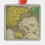 Mundo en la proyección de Mercator Ornatos