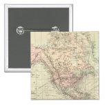 Mundo en la proyección de Mercator Pins