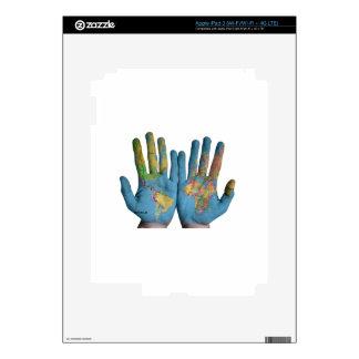 Mundo en sus manos iPad 3 skin