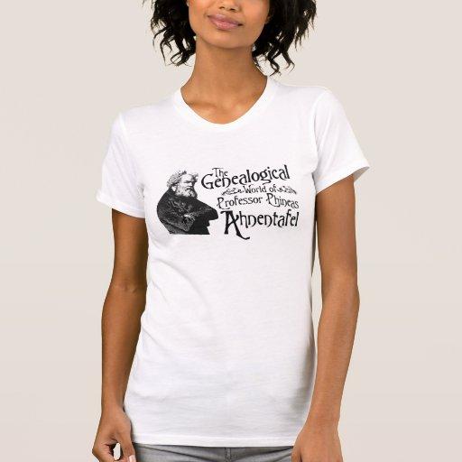 Mundo genealógico camiseta