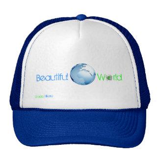 Mundo hermoso gorras