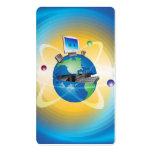 Mundo informático plantilla de tarjeta de visita