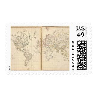 Mundo la proyección de Mercator 2