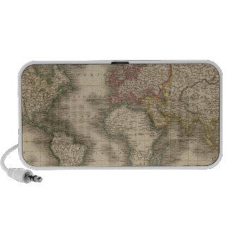 Mundo la proyección de Mercator 2 iPhone Altavoces