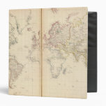 """Mundo, la proyección de Mercator 2 Carpeta 1 1/2"""""""