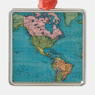 Mundo, la proyección de Mercator Ornamentos De Reyes Magos