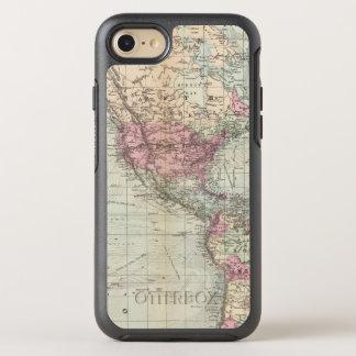 Mundo, la proyección de Mercator Funda OtterBox Symmetry Para iPhone 7