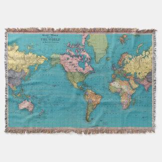 Mundo, la proyección de Mercator Manta