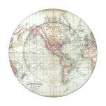 Mundo, la proyección de Mercator Paquete Pequeño De Tapa Botones