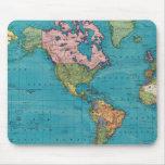 Mundo, la proyección de Mercator Tapete De Raton