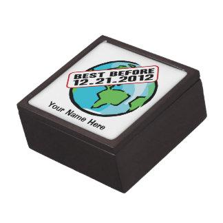 Mundo mejor antes de 12 21 2012 caja de recuerdo de calidad