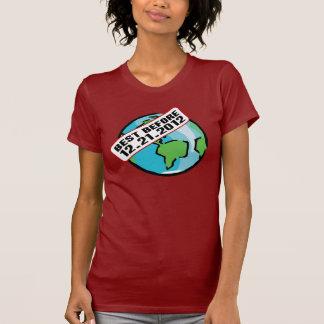 Mundo mejor antes de 12.21.2012 playera