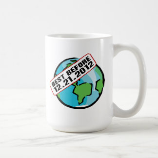 Mundo mejor antes de 12.21.2012 taza de café