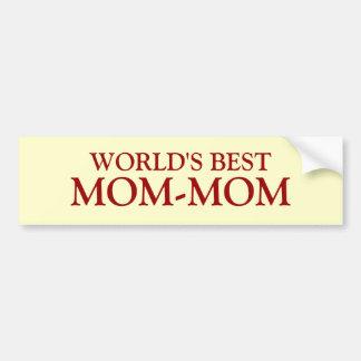 MUNDO MEJOR, MOM-MOM PEGATINA PARA AUTO