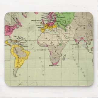 Mundo, misiones de Moravia Mousepads
