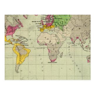 Mundo, misiones de Moravia Postal