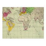 Mundo, misiones de Moravia Tarjetas Postales